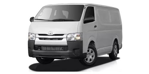 where to rent a toyota hiace van
